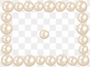 Pearl Frame Clip Art Image - Texture Painting Art Clip Art PNG