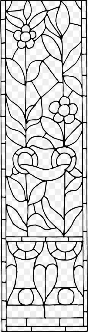 Traditional Patterns Of Black And White Windows - Black And White Visual Arts Pattern PNG