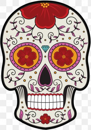 Calavera Mexican Cuisine Skull And Crossbones Death Day Of The Dead PNG