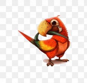 Parrot - Parrot Drawing DeviantArt Painting PNG