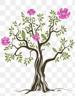 Tree - Tree Shrub Floral Design PNG