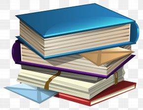 School Books Clipart Image - Book Clip Art PNG