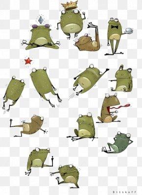 Frog - Frog Drawing Illustration PNG