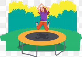 People Who Jump Trampoline - Trampoline Jumping Trampolining PNG