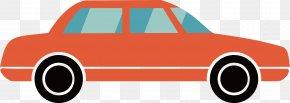 Vector Cartoon Car - Compact Car Automotive Design PNG