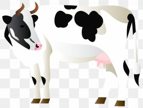 Cow Transparent Clip Art Image - Cattle Clip Art PNG