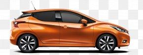 Orange Car - Nissan Micra Car Nissan JUKE Nissan Leaf PNG