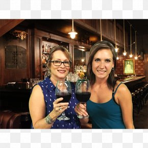 Mother And Daughter - Wine Glass Cafe Prohibition In The United States PNG