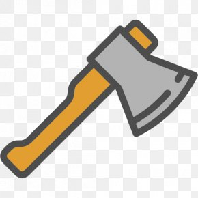 Cartoon Ax - Axe Icon PNG