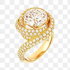 Metal Gemstone - Jewellery Ring Yellow Engagement Ring Gold PNG