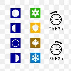 Daylight Saving Time Clipart - Symbol Season Clip Art PNG