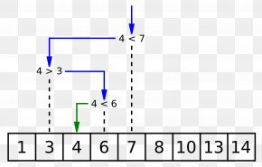 Binary Tree - Binary Search Algorithm Linear Search Time Complexity PNG