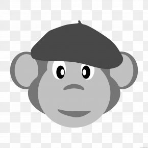 Jumping Monkey Drawing - Fez Clip Art Cartoon Drawing PNG