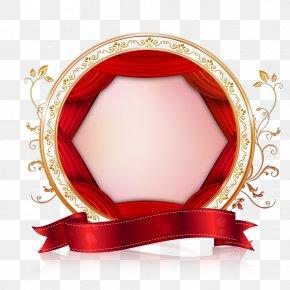 Creative Wedding Valentine Border - Newcastle Red PNG