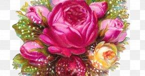 Flower Pink Blue - Rose Flower Bouquet Clip Art PNG