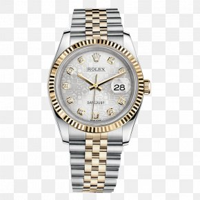 Silver Watches Rolex Watches Male Table - Rolex Datejust Rolex Daytona Watch Diamond Source NYC PNG