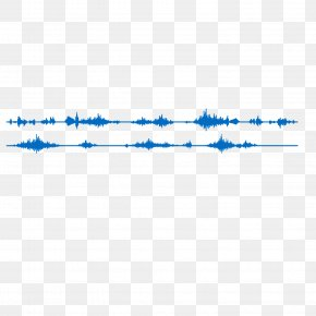 Blue Dynamic Sonic Vector Material - Sound Euclidean Vector PNG