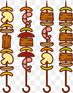 Vector Barbecue - Barbecue Shish Kebab Brochette Chuan PNG