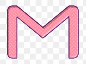 Pink Service Icon - Communication Icon Email Icon Gmail Icon PNG