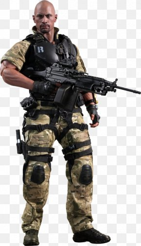 Dwayne Johnson - Dwayne Johnson Roadblock G.I. Joe: Retaliation Snake Eyes Storm Shadow PNG
