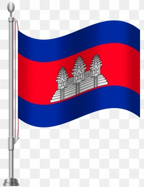 Flag - Flag Of Cambodia Flag Of Paraguay Clip Art PNG