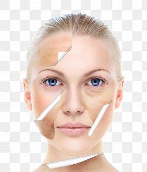 Skin Contrast Map - Skin Care Beauty Chemical Peel Facial PNG