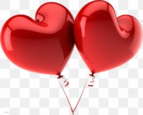 Passion - Balloon Heart Valentine's Day Clip Art PNG