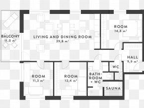 Apartment - Floor Plan Apartment Blueprint Interior Design Services PNG