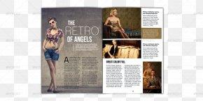 Magazine Layout - Magazine Adobe InDesign Page Layout PDF PNG