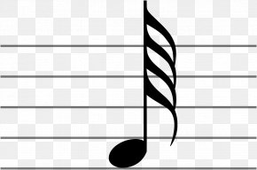 Musical Note - Sixty-fourth Note Musical Note Thirty-second Note Eighth Note PNG
