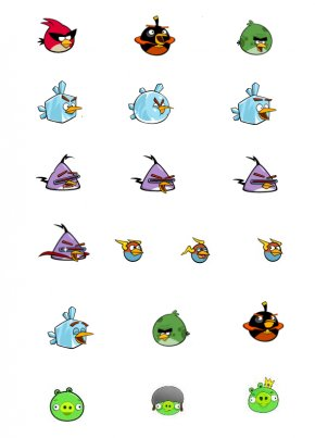 Friendly Bird Cliparts - Angry Birds Space Angry Birds Star Wars II Angry Birds Seasons PNG