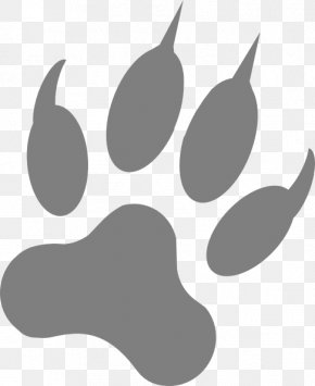 Wolf Vector Art - Dog Paw Footprint Claw Clip Art PNG