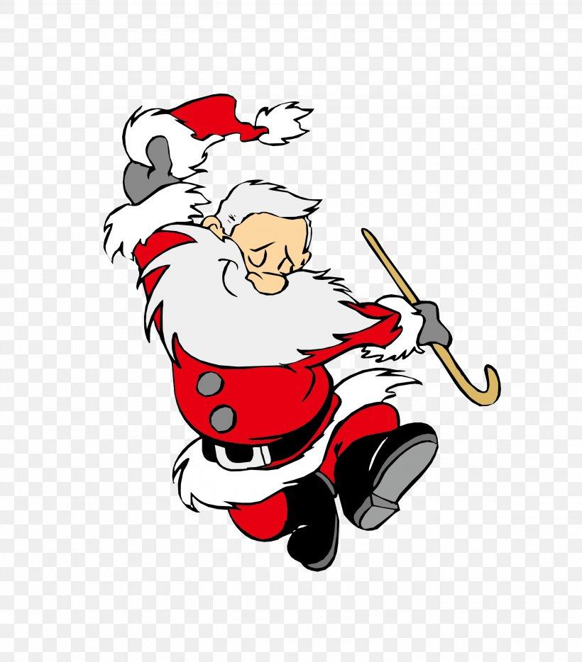 Santa Claus Dance Christmas Gift Swing, PNG, 2634x3003px, Santa Claus, Art, Ballet Dancer, Cartoon, Christmas Download Free