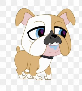 Bulldog Vector - Toy Bulldog Pug Puppy Dog Breed PNG