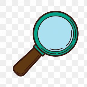 Magnifying Glass Cartoon - Magnifying Glass Clip Art PNG