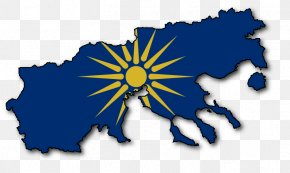 Ancient Greece Flag - Macedonia Blank Map Flag Of Greece Bumper Sticker PNG