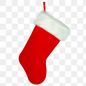 Christmas Stocking Transparent Image - Christmas Stocking Christmas Ornament Red PNG