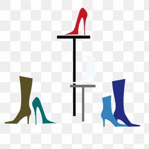 High Heels On The Shoe Rack - Shoe High-heeled Footwear Clip Art PNG