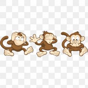 Evil - Three Wise Monkeys The Evil Monkey PNG