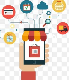 Crazy Shopping - E-commerce Digital Marketing Product Online Shopping Website Development PNG