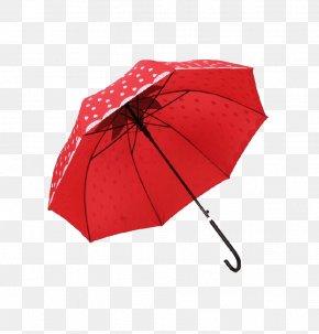 Red Polka Dot Umbrella - Umbrella Amazon.com Handle Polka Dot Auringonvarjo PNG