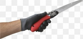 Hand Saw In Hand Image - Knife Hand Tool Hand Saw PNG
