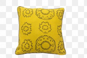 Pillow - Throw Pillow Bed Couch PNG
