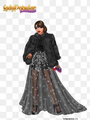 Lady Popular Fashion Clothing XS Software Model PNG