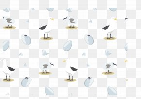 Beach Albatross Vector Collection - Euclidean Vector Beach PNG