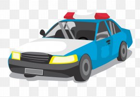 Vector Police Car - Taxi Driving Icon PNG
