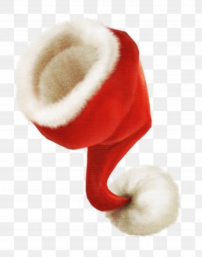 Creative Red Christmas Hat - Santa Claus Christmas Hat PNG
