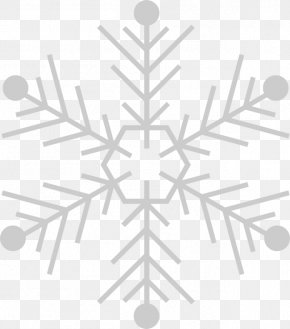 Snow Falling - Winter Greeting Card Snowflake Wish Christmas Decoration PNG