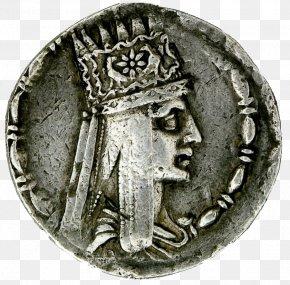 Ancient History Silver - Silver Circle PNG