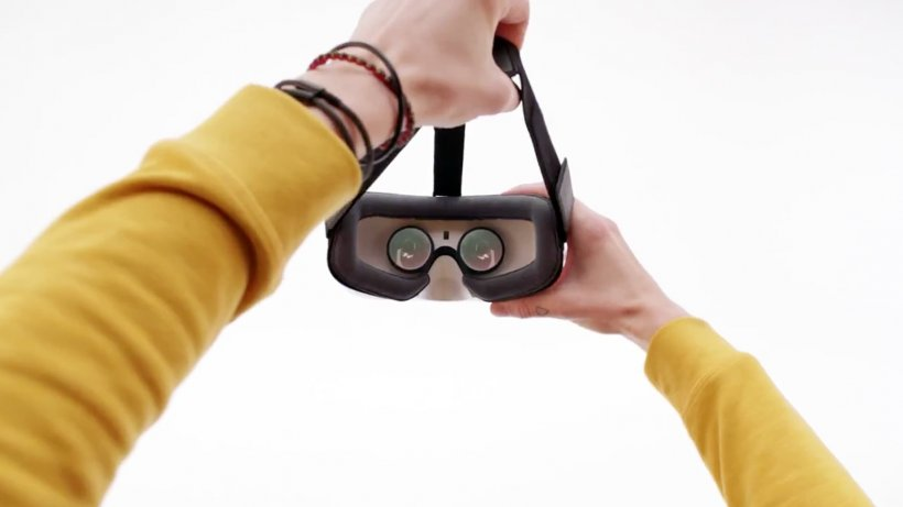 Lucky's Tale Oculus Rift Samsung Gear VR Virtual Reality Headset HTC Vive, PNG, 1556x875px, Oculus Rift, Eyewear, Finger, Glasses, Hand Download Free